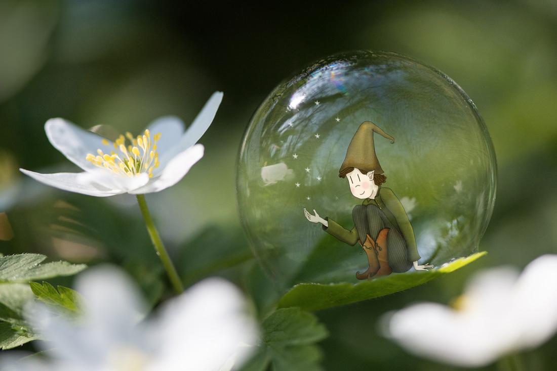 Seul dans sa bulle…