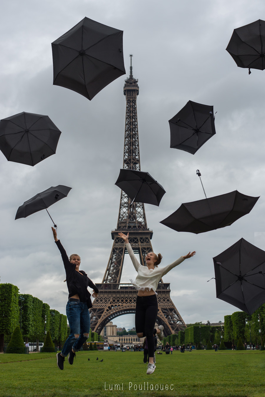 Noora & Katja à Paris -2
