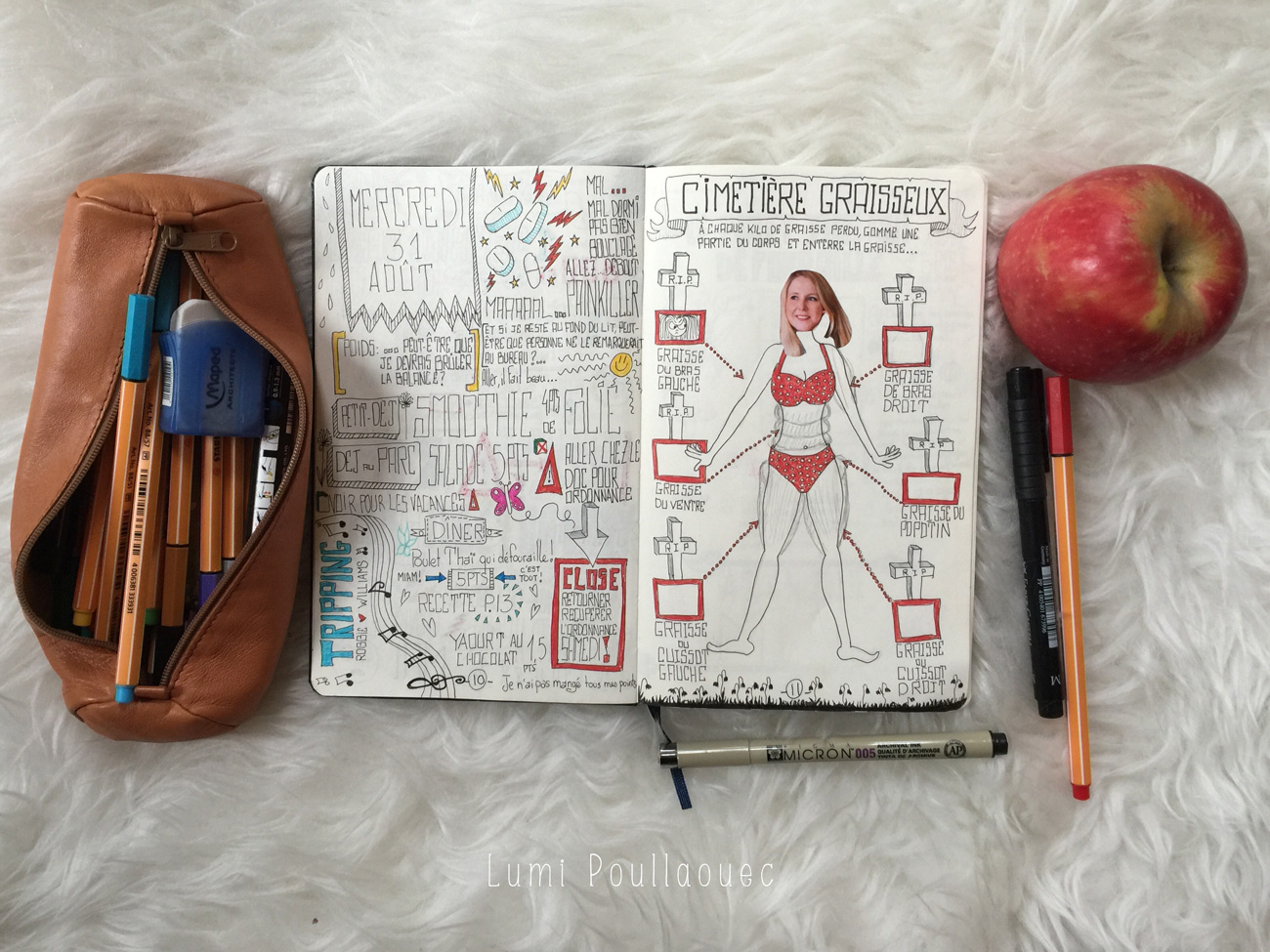 Mon carnet de motivation – Cimetière graisseux
