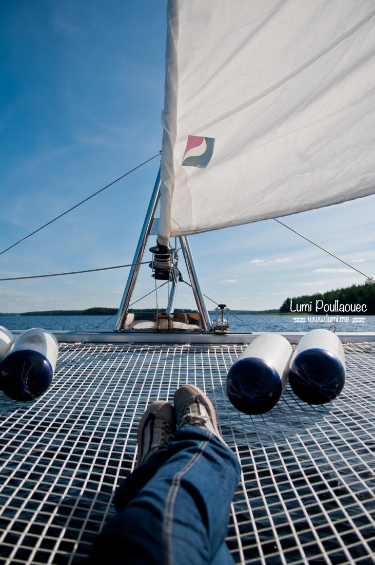 Lac Saima – Finlande – ©Lumi Poullaouec